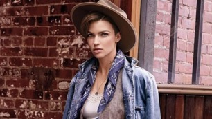 Ruby Rose for Ralph Lauren Denim Supply