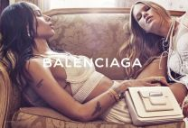 Zoë Kravitz and Anna Ewers for Balenciaga