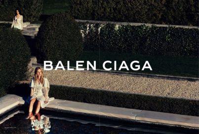 Zoë Kravitz and Anna Ewers for Balenciaga