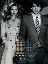 Kate Moss and Hugh Dancy for Burberry Brit, 2005
