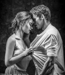 Lily James and Richard Madden in Kenneth Branaugh's Romeo and Juliet. Come on! This is an ad campaign already!