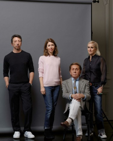 Piccioli, Coppola, Valentino, and Chiuri