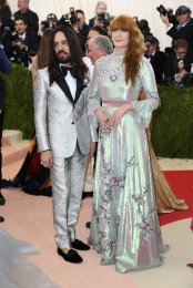 Michele and Florence Welch at the Met Gala.