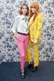 Alexa Chung and Florence Welch at a Gucci event in LA.